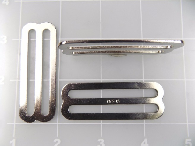 inch nickel plated steel slide 2""