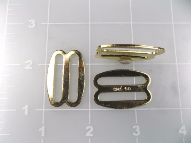 "1"" bright brass plated slide"