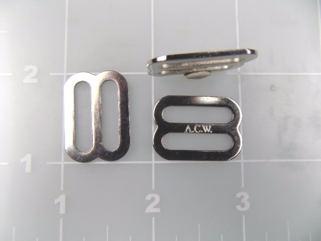 inch nickel plated steel slide  3/4""