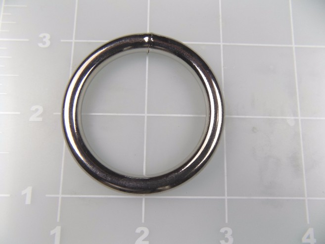 "1-1/2"" Welded round ring steel metal"