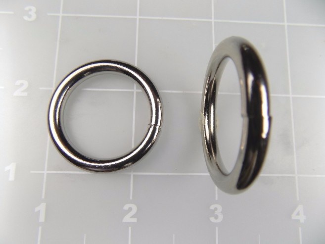 "1"" welded round ring metal steel"