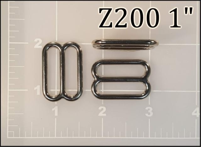 Z200 1  - - 1 inch zinc die cast slides