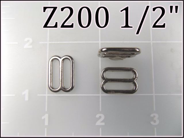 Z200 12  - - 1/2 inch zinc die cast slide