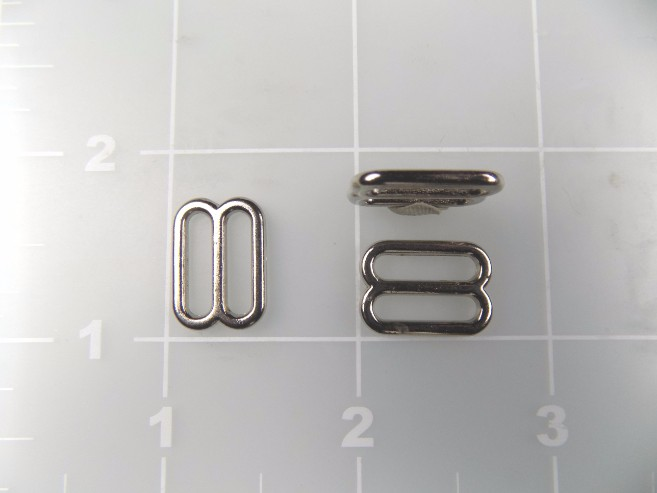 """1/2"""" inch zinc metal slide"""