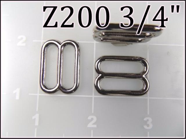 Z200 34  - - 3/4 inch zinc die cast slides