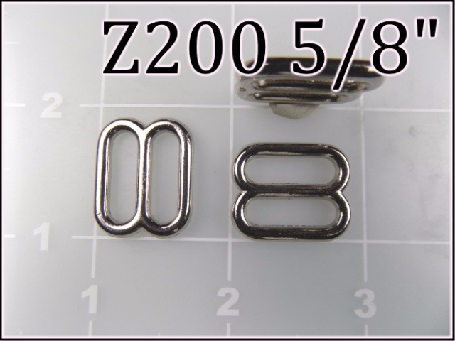 Z200 58  - - 5/8 inch zinc die cast metal slides