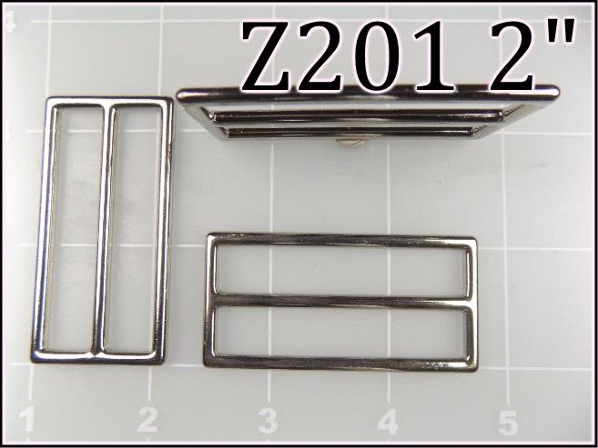 Z201 2  - - 2 inch zinc die cast slide