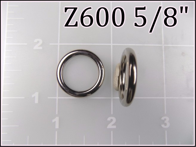 Z600 58 - - 5/8 inch zinc cast round ring