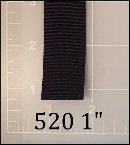 """polyester black binding tape 1"""""""