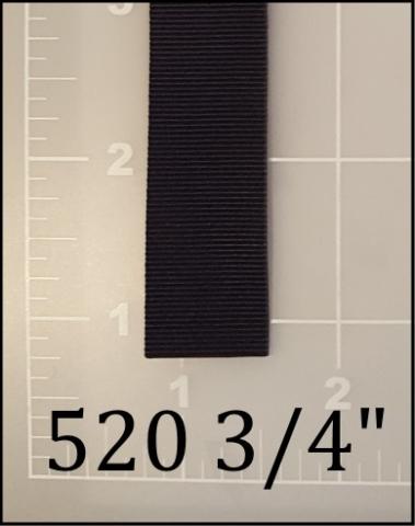 """polyester black binding tape 3/4"""""""