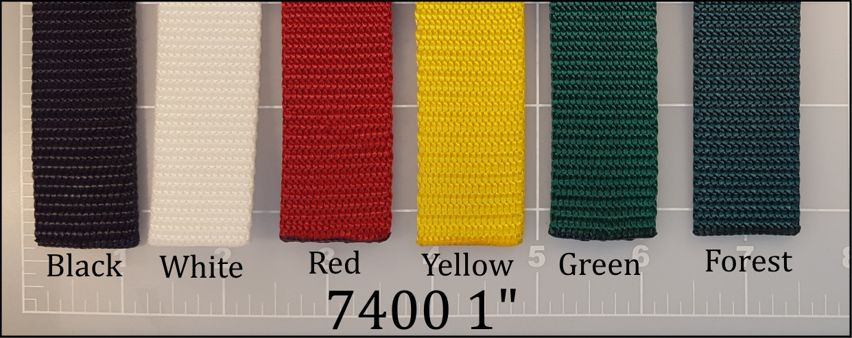 nylon black white red yellow green forest dog leash webbing 1""