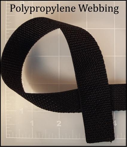 polypropylene webbing backpack handle bag